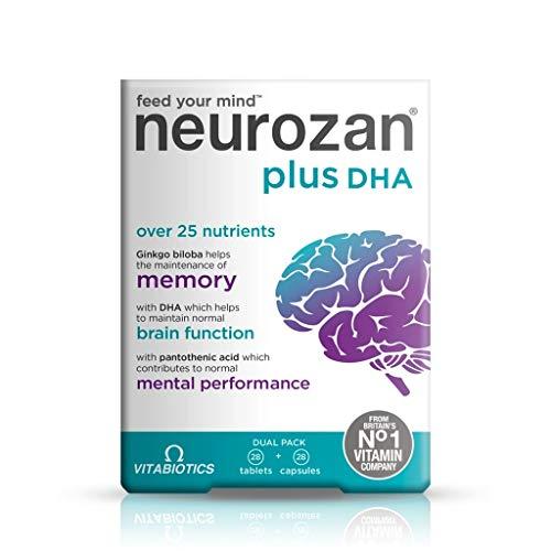 Pastillas para estudiar Neurozan