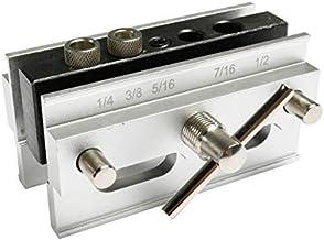 Self Center Dowel Jig Kit, Self-Centering Doweling Jig Drilling Guide Set