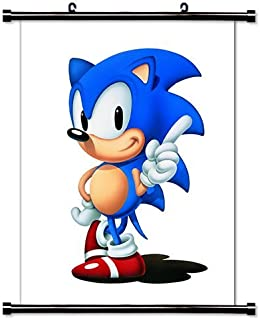 1 X Sonic The Hedgehog Game Fabric Wall Scroll Poster (16