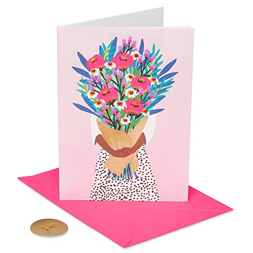 Papyrus Birthday Card for Her (Floral Bouquet)