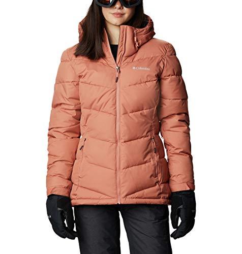 Columbia Damen Isolierte Skijacke, Abbott Peak,Rosa (Nova Pink),M