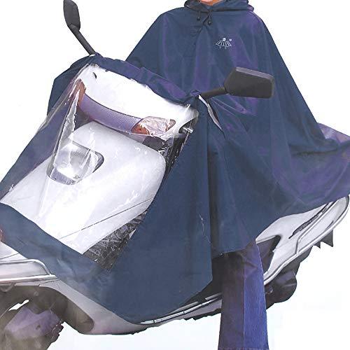 Sourcingmap Housse Pluie Scooter Moto imperméable imperméable Transparent 30 Pouces Largeur Bleu