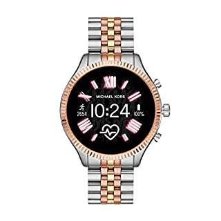 Michael Kors Access  Lexington 2 Touchscreen  Stainless Steel  Smartwatch, Tri-Tone Rose/Gold/silver-MKT5080 (B07TBPV5D9) | Amazon price tracker / tracking, Amazon price history charts, Amazon price watches, Amazon price drop alerts