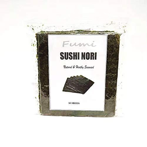 Sushi Nori Seaweed 50 Sheets (1 bag 50 sheets)