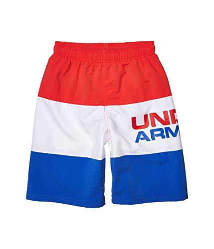 Under Armour Jungen UA Triple Block Volley Badehose, Versa Red Sp20, 35