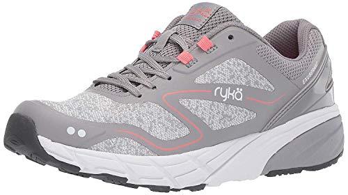 Ryka Women's Exuberant Walking Shoe, sc Grey, 7.5 M US