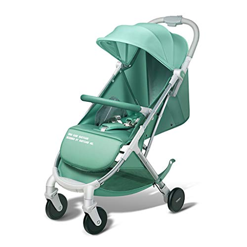 Ultra-Lightweight Stroller, Self-Standing Compact Folding Design, 2 Mesh...