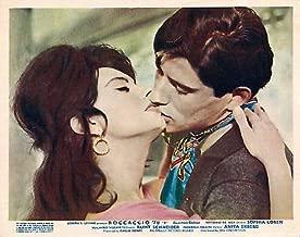 BOCCACCIO '70 Original Lobby Card Sophia Loren 1962 Vittorio DE SICA