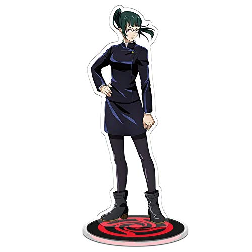 Anime Jujutsu Kaisen acrilico Standing Figure Bifacciale Trasparente Stand Miniatura Action Figure Decorazione Scrivania