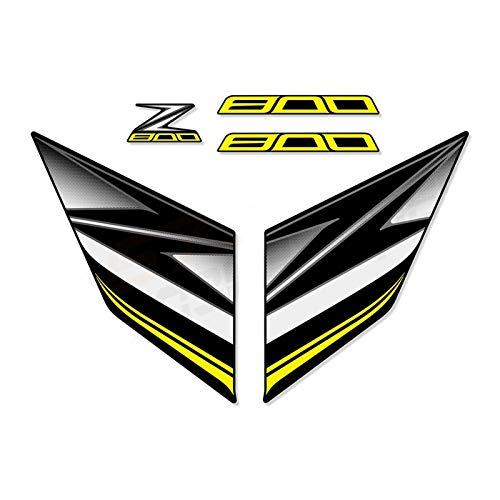 Para Kawasaki Z800 Z 800 2013 2014 2015 2016 pegatinas calcomanía motocicleta pegatina todo el coche motocicleta gas protector (color: F)