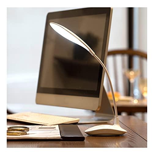 XuuSHA Lámparas de Escritorio para lámparas de Mesa con Cuidado de Estudio de Estudio Lámpara de Mesa con Interruptor táctil, lámpara de Escritorio de Mesa de atenuación Plegable conjuntamente.