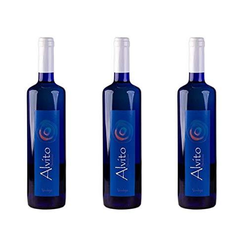 Vino blanco Alvito Semidulce 3 Botellas 750ml