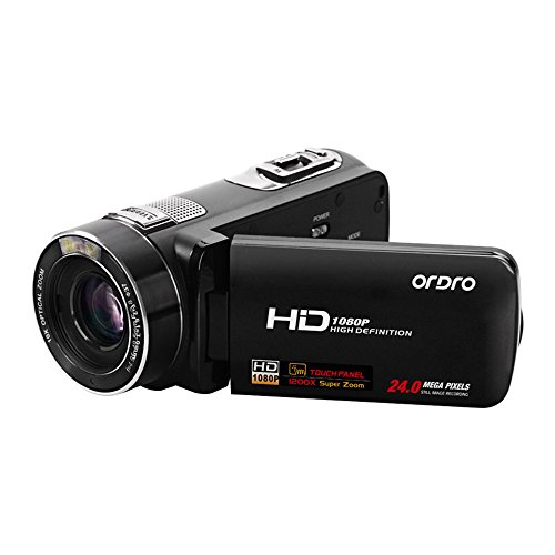 elikliv Ordro Z80 Digital MiniDV camcorder HDV Video fotocamera 24 MP 1080p 10 X Zoom digitale cmos Anti di Agitazione