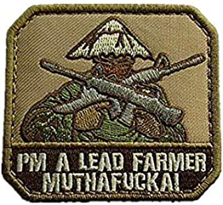 I'm A Lead Farmer Military Hook Loop Tactics Morale Embroidered Patch