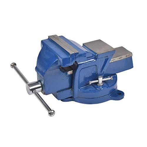 Cogex 64015 - Tornillo de banco con base giratoria (fundición)