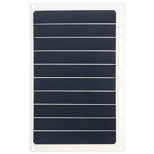 XINL Panel Solar al Aire Libre, Panel Solar, Soporte de Carga Solar, Grado de impermeabilidad IP65, Soporte de Salida USB estándar, para Cargador Solar Panel Solar
