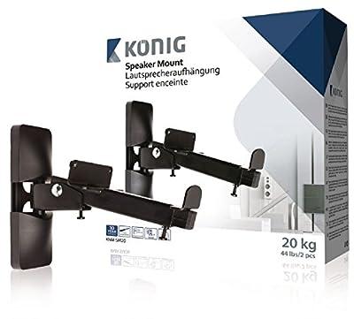 König 20Kg Speaker Mount (Pack of 2) from Nedis