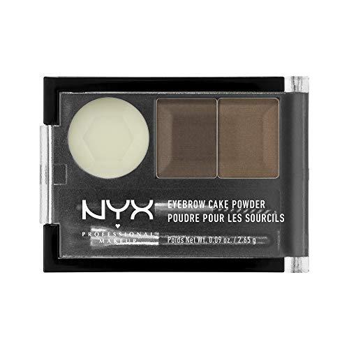 NYX PROFESSIONAL MAKEUP Eyebrow Cake Powder, Brunette