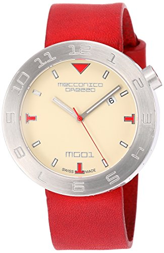 [メカニカグレッツァ] 腕時計 0144S-AVRD 正規輸入品 レッド