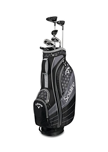 Callaway Golf 2018 Solaire Complete 8-Piece Golf Set, Right Hand, Black