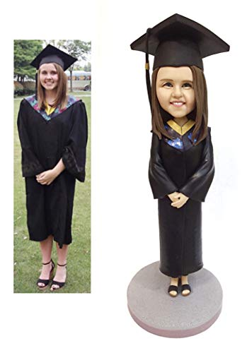 Custom Bobblehead Graduation Figurine Personalized Gifts Based on Your...