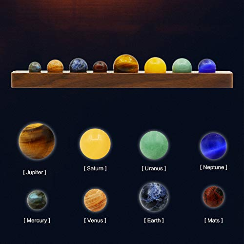 Product Image 4: Desk Planets Handmade Natural Gemstone Celestial Creative Gift Home Decorations