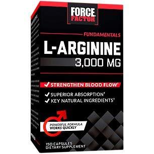 Force Factor L-arginine 150ct, 150 Count