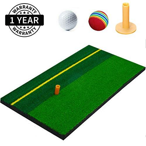 MOPHOTO Tapis de golf avec tee de golf, 30 x 60 cm, Mini...