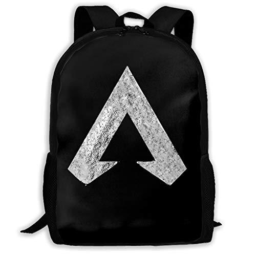 Yaqnsht Mochila Ap-Ex de alta capacidad para adultos, de 43,7 cm, mochila escolar, casual, viajes, senderismo, mochila de día