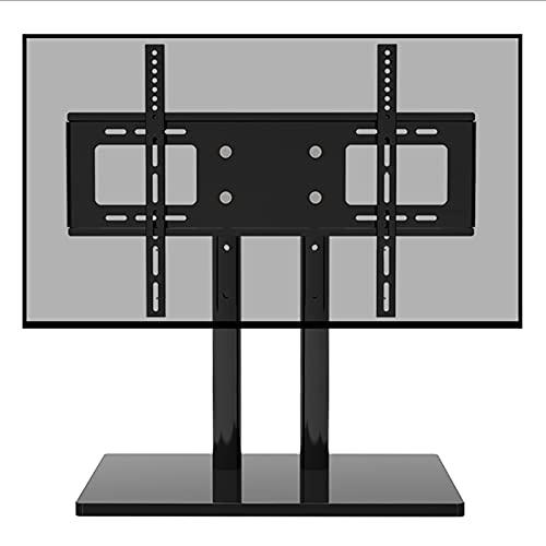 Soporte TV Moderno Soporte de Monitor de Escritorio para 32/50/55/65/70 Pulgadas Pantallas Planas, Portátil Casa para La Sala de Estar de La Sala de Reuniones, Carga de 65 Kg