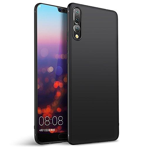 Olliwon Cover Huawei P20 PRO, Ultra Sottile Anti Graffio Case Anti Impronte Protettiva e Leggera Cover per Huawei P20 PRO, Huawei P20 PRO Custodia - Nero