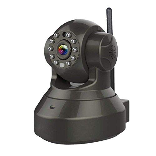 XHZNDZ Cámara CCTV casera de Interior de la cámara inalámbrica de la Seguridad WiFi IP 720P HD con el Audio bidireccional, Pan/Tilt, visión Nocturna del día (Tarjeta de 32G SD, incluida)