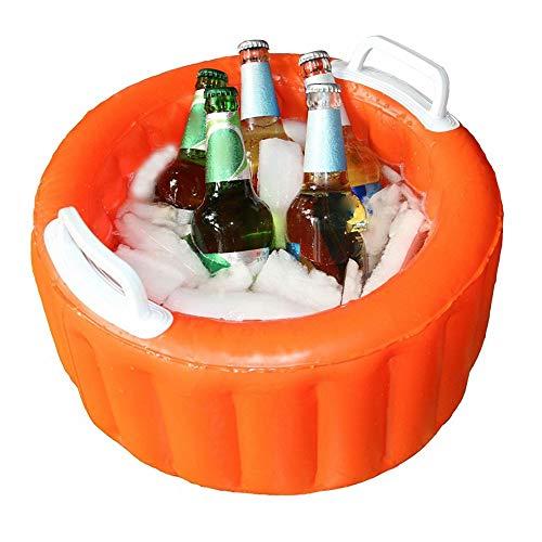 Youuzha Luchtbed, zomer, opblaasbare bierkoeler, emmer, zwembad, float, waterparty, luchtvloat, ijsemmer