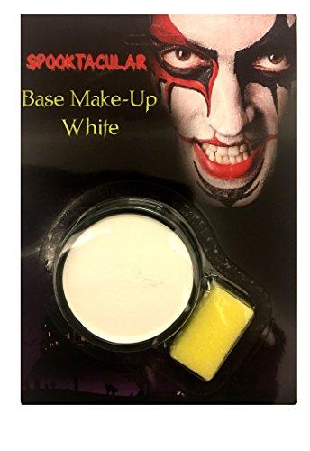 Générique Noir ou Blanc Peinture de Visage Halloween Fête Costumée Maquillage de Base