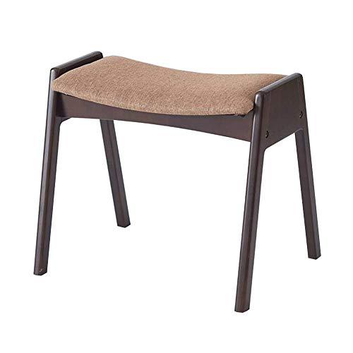 SSSR Modernes Aussehen Konferenztisch stapelbare Design Extra Stabilität der Büro-Einstellung Empfangsraum Beine Verstärkung Baumwolle Leinen + Kiefer (Color : Coffee Color)