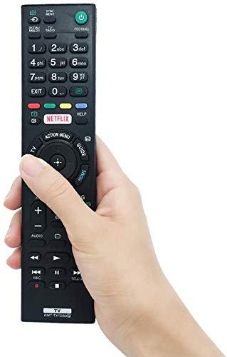 Nuevo Reemplazo Mando TV Sony RMT-TX100D para Mando Sony RMT-TX100D RMT-TX102D RMT-TX200E RMT-TX300E- No Se Requiere Configuración Mando a Distancia Sony