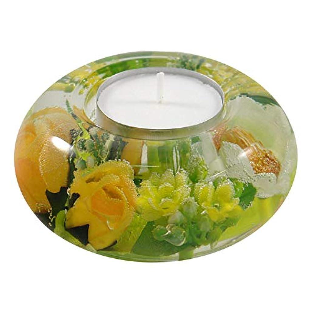 聞きますスクラップブック機会ドリームライト UFO スプリングフラワー 花 キャンドルホルダー ガラス キャンドルスタンド おしゃれ