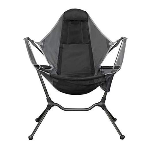 Usuny Tragbarer Campingstuhl – kompakte, ultraleichte Klappstühle, klein, faltbar, verstaubar, leicht, Liegestuhl für Outdoor, Camping, Picknick, Wandern