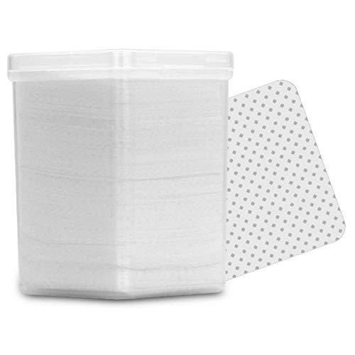 Dorime 180 / Cartucho Limpio de algodón Blanco, paño sin Pelusa detergente Gel Suave Herramienta de uñas UV removedor de Esmalte de empujador