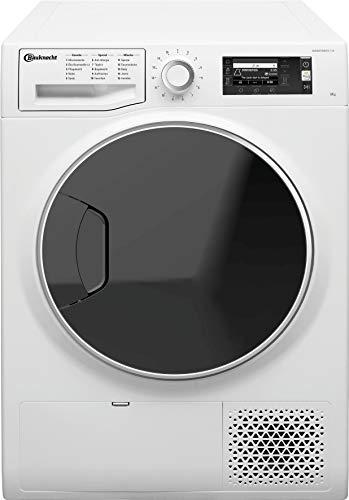 Bauknecht Trockner T Sense D 8X3E DE Wärmepumpentrockner / 8kg / ActiveCare-Technologie / EasyCleaning-Filter / Knitterschutz / Wolle-Programm / Startzeitvorwahl/ Anti-Allergie-Programm