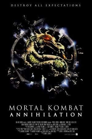 Mortal Kombat Annihilation – Film Poster Plakat Drucken Bild – 30.4 x 43.2cm Größe Grösse Filmplakat