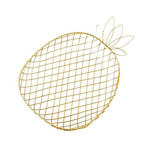 KEISL Life Obstkorb Obstschale Metall – große Obstschale für den Esstisch oder die Küchentheke – dekorativer Früchtekorb aus Metall