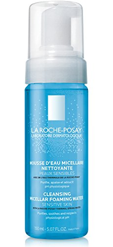 La Roche-Posay Foaming Micellar Cleansing Water and Makeup Remover, Soap & Alcohol Free 5.07 Fl oz