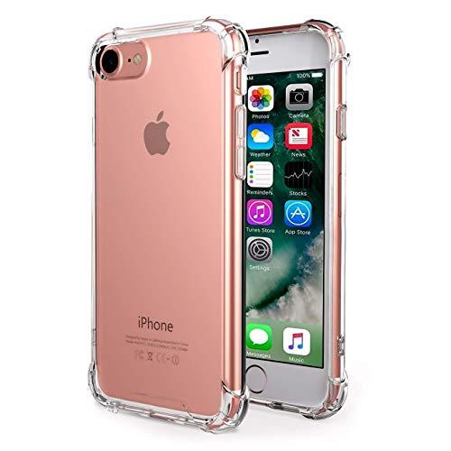 iPhone 7Hülle Klar, ibarbe anti-slippery, kratzfest, Slim, stoßdämpfend TPU Schutzhülle Gel Bumper für iPhone 7