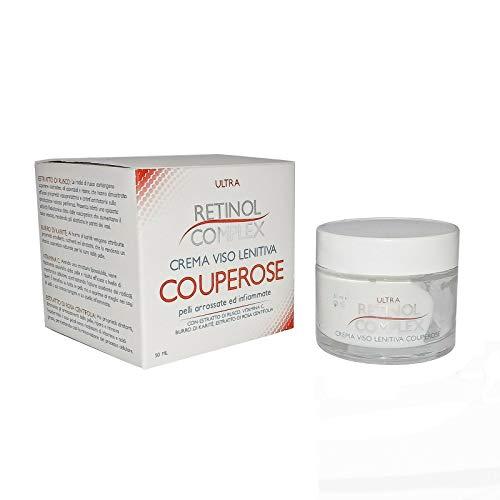Crema facial calmante para pieles enrojecidas e inflamadas con extracto de ruscus, vitamina C, manteca de karité, extracto de rosa centifolia 50ml