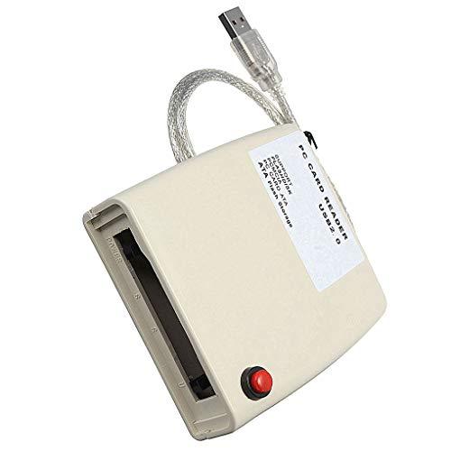 Morza Adaptador USB para Tarjeta PCMCIA de 68 Pines ATA PCMCIA de Memoria Flash Disco Adaptador del convertidor del Lector de Tarjeta USB del Ordenador LXT