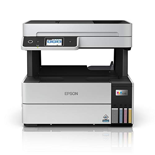 EcoTank ET-5170 | Impresora Alto Rendimiento WiFi A4 Multifunción con Impresión Doble Cara Automática | Imprime/Escáner/Copiadora/Fax