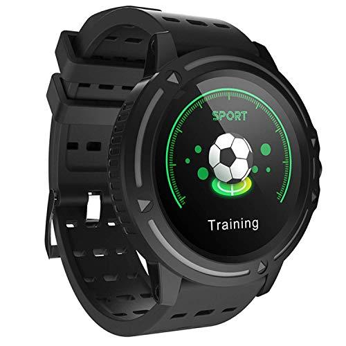 Gymqian Smart Watch, 1.3 inch Screen, Fitness Tracker, Sports Pedometer Bracelet, Message Push, Smart Reminder, Ip67 Waterproof, 180Mah Fashion/Black