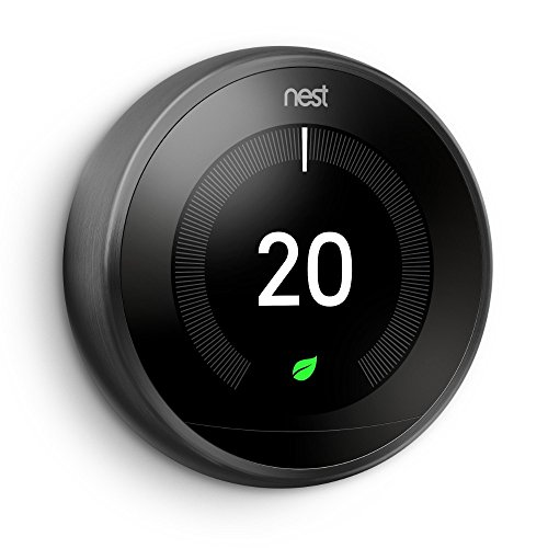 Thermostat intelligent 3ème génération NEST noir