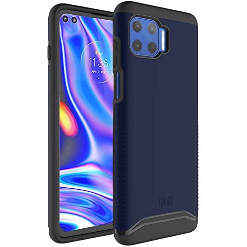 TUDIA DualShield - Carcasa rígida para Motorola Moto G 5G Plus, doble capa, resistente a los arañazos, delgada, para Motorola G 5G Plus (azul índigo), color azul